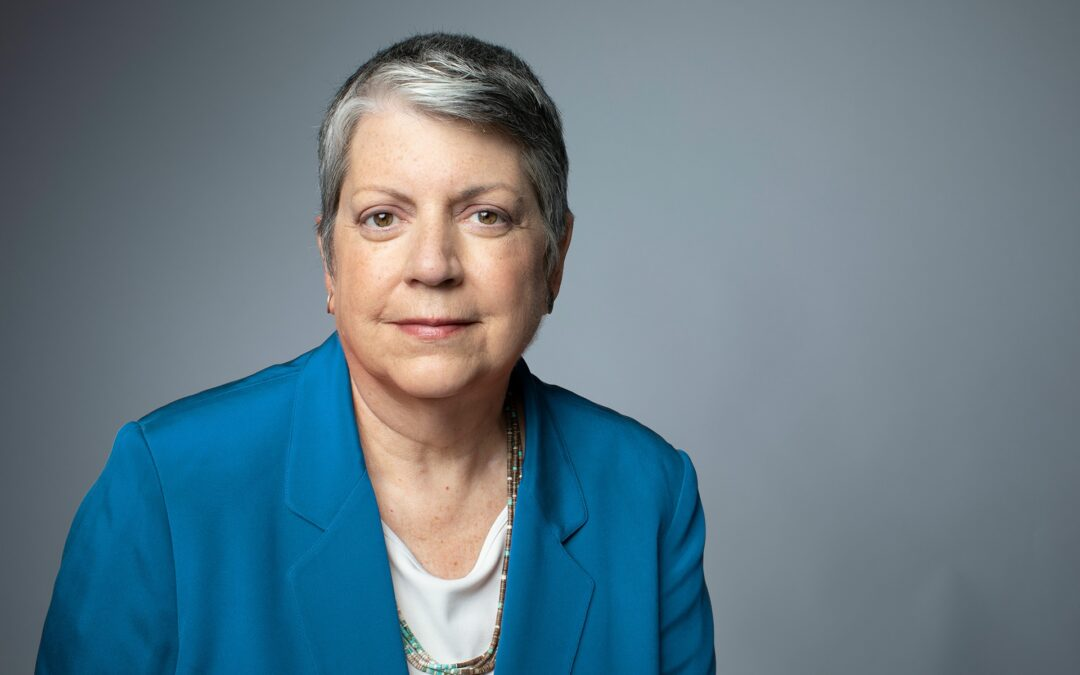 A Letter from Janet Napolitano