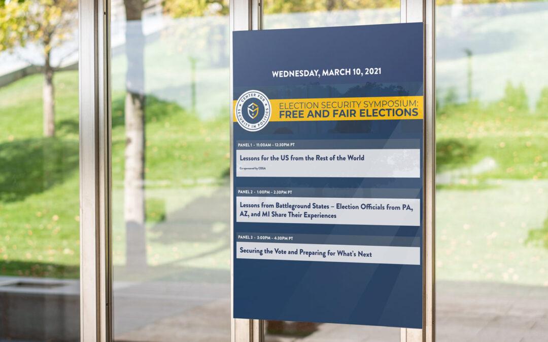 Election Security Symposium 2021