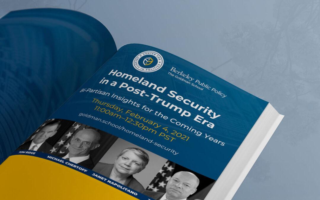 Homeland Security in a Post-Trump Era